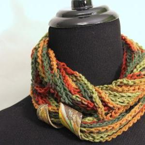 Spice Colors Infinity Scarf, Neck W..