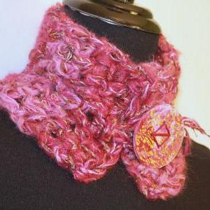 Womens Infinity Cowl Scarf, Silky S..
